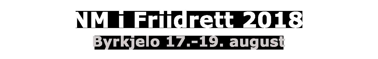 NM Friidrett 2018